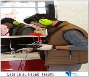 Çatalca su kaçağı tespiti ile kırmadan su kaçak tespiti.