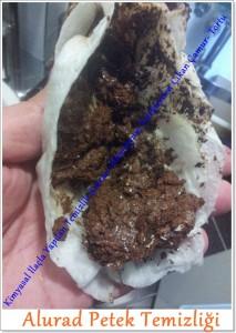 Alurad Petek Temizliği cihazla kimyasal ile yapılmalıdır.