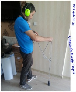 Cihazla Su Kaçağı Tespiti servisi