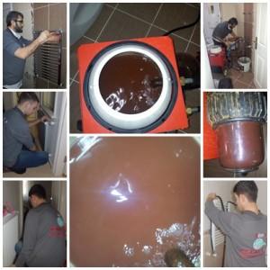 Petek temizliğini kimyasal ve cihazla yapıyoruz.