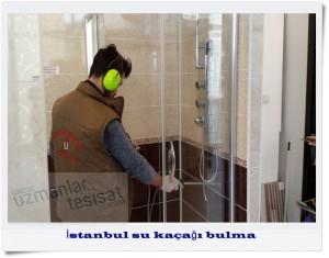 İstanbul su kaçağı bulma servisi, cihazla hizmet vermektedir.