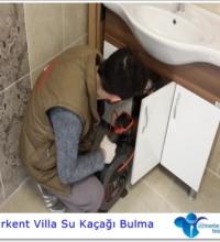 Acarkent Villa su kaçağı bulma