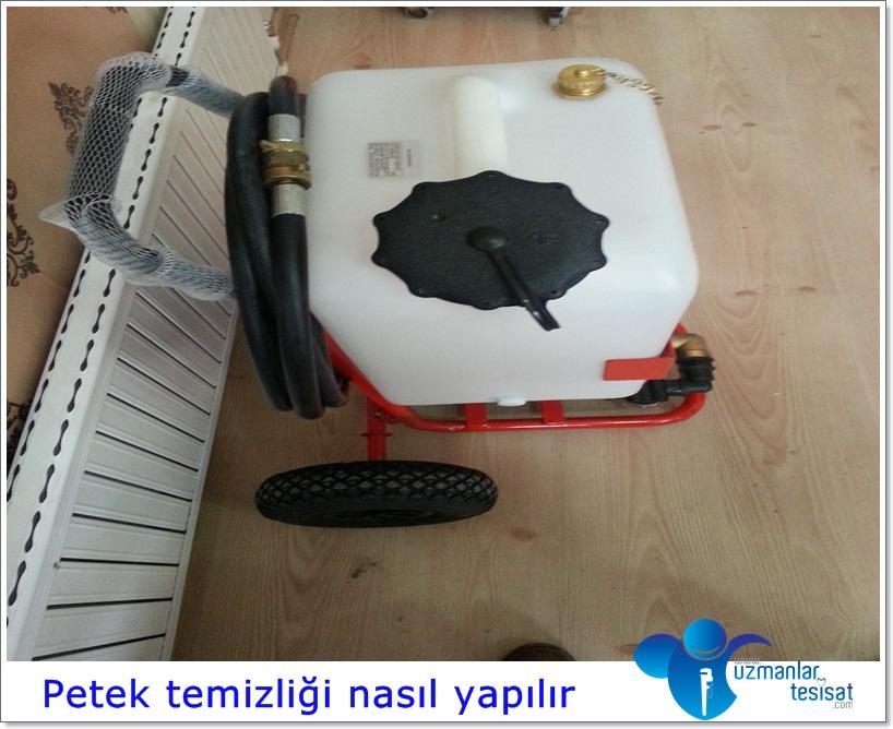 Petek temizliği makinesi