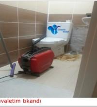 Tuvalet tıkanıklığı açma ustası