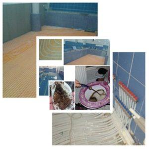 Üsküdar yerden ısıtma tesisat temizliği petek temizliği