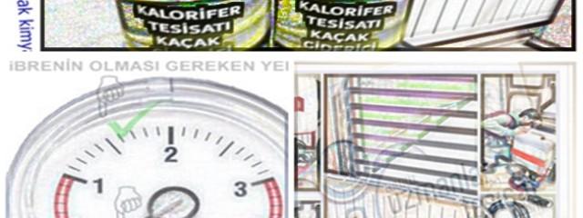 Kalorifer kaçağı