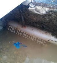 Su tesisatı borusu delinir mi ?
