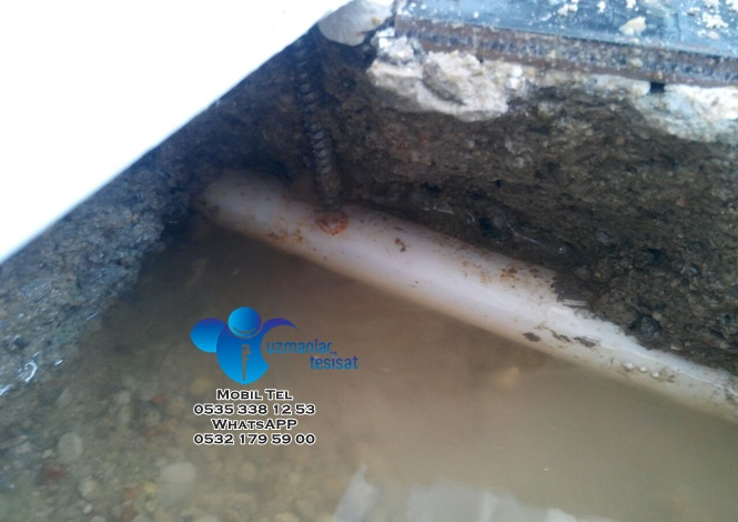 Kırmadan cihazla su kaçağı tespiti   Uzmanlar Tesisat